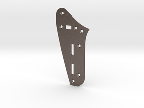 Jaguar Rhythm Circuit Plate - Standard in Polished Bronzed Silver Steel