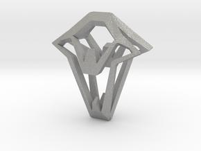 HEAD TO HEAD Again,  Pendant in Aluminum