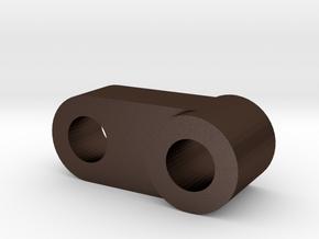 Fuel pump crank arm for Aprilia Ditech in Matte Bronze Steel