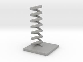 Triangular helix in Aluminum