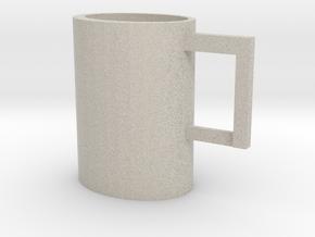 Scrummy Mug in Natural Sandstone