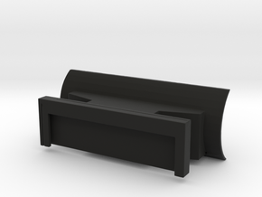 Quick Attach Plow in Black Strong & Flexible