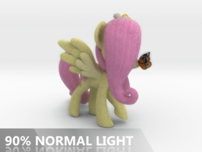Fluttershy 1 Full Color - M1 in Full Color Sandstone