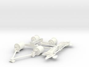Iveco-Fiat Air Suspension 1/24 in White Processed Versatile Plastic