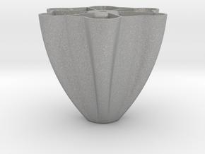 Pillar-base for Palmiga Globe Bouquet Vase in Aluminum
