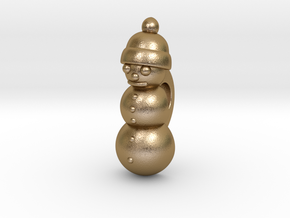 Snowman Lacelock for Nike SB Ugly Xmas Sweater in Polished Gold Steel