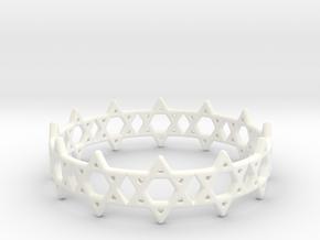 David Bracelet 70 in White Processed Versatile Plastic