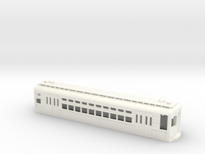 CTA 1-50 Series, Skokie Car in White Strong & Flexible Polished
