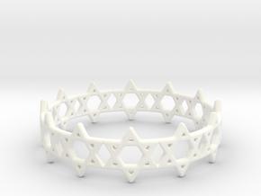 David Bracelet 75 in White Processed Versatile Plastic