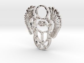 From The Gods in Rhodium Plated Brass