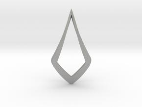 HIDDEN HEART Lucent, pendant. Pure Elegance. in Aluminum