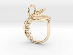 Series 1: Ring 1 in 14k Gold Plated Brass