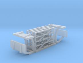 901-100 ZE AB6 Hekwerk treeplanken in Frosted Ultra Detail