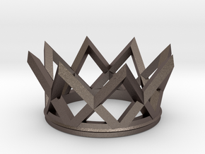 Watch The Crown in Polished Bronzed Silver Steel
