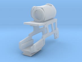 custom scope mount 010916 in Smooth Fine Detail Plastic