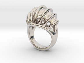 Ring New Way 18 - Italian Size 18 in Platinum