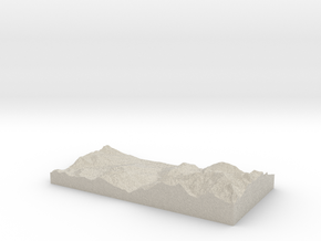 Model of Bionnay in Natural Sandstone