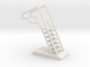 Access Ladder: Blackbird, Viper, StealthStar (BSG) in White Natural Versatile Plastic: 1:32