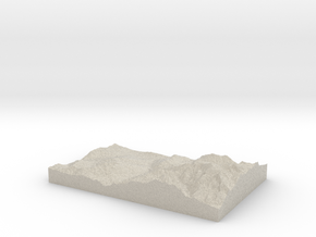 Model of Bionnassay in Sandstone