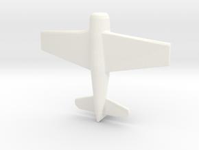 1/285 (6mm) F-8F Bearcat Fighter in White Processed Versatile Plastic