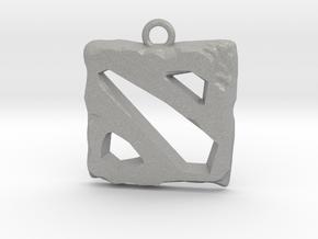 DOTA 2 Emblem in Aluminum