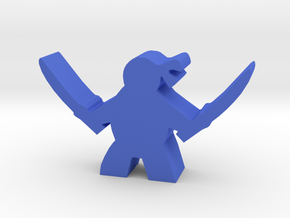 Game Piece, Mutant Ninja, Katanas in Blue Processed Versatile Plastic
