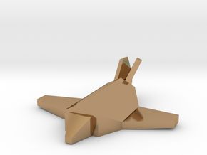 Arm Adv. Construction Aircraft in Polished Brass