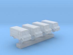 1:400 Scale USAF Crew Van in Smooth Fine Detail Plastic