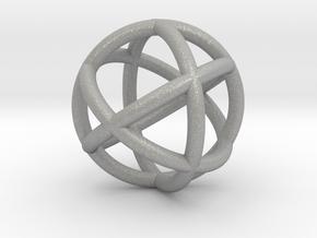 0402 Spherical Cuboctahedron (d=2.2cm) #002 in Aluminum