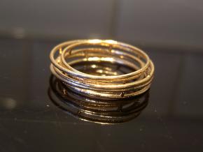 Orbital ring in Raw Bronze