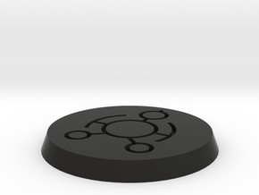 Cron 40mm base in Black Natural Versatile Plastic