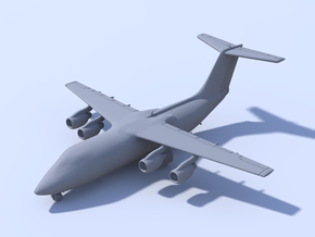 1:400 - BAE146-200 in Smooth Fine Detail Plastic