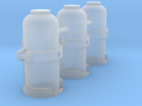 1/50 Scale Fire Suppression System-Chem Canisters in Smoothest Fine Detail Plastic
