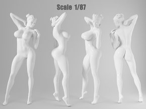 1:87 Sexy little girl in 2cm-001 in Frosted Extreme Detail