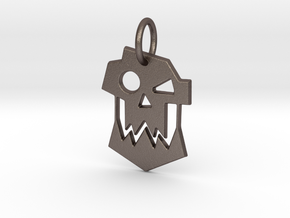 Ork Keychain in Stainless Steel