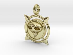 Voodoo Velvet - Pendant in 18k Gold