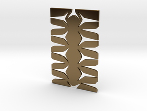 Youniversal Cardholder, Structured, Accessoir in Polished Bronze
