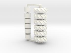 3 Set Of 23.1-32tires in White Processed Versatile Plastic