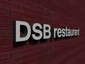 DSB Restaurant (K74) 1/87 in White Natural Versatile Plastic