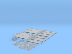 NGPLM20 Modular PLM train station in Smooth Fine Detail Plastic