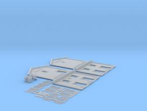 NGPLM21 Modular PLM train station in Smooth Fine Detail Plastic