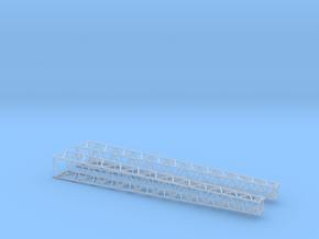 HO/1:87 Lattice boom 2x in Smooth Fine Detail Plastic