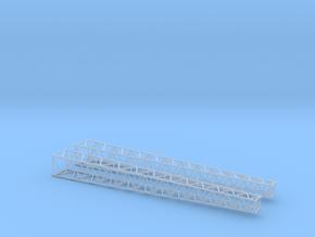 HO/1:87 Lattice boom 2x in Smooth Fine Detail Plastic