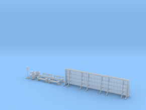 NGPLM36 Modular PLM train station in Smoothest Fine Detail Plastic
