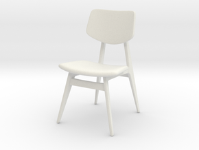 1:24 C 275 Chair in White Natural Versatile Plastic
