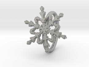 Snowflake Ring 2 d=16mm h21d16 in Aluminum