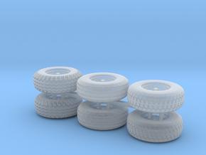 Pneu pour BR1T et MRT HO 1/87 in Smoothest Fine Detail Plastic