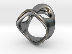 s3r032s7 GenusReticulum in Polished Silver