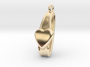 San Valentino Earring in 14K Yellow Gold