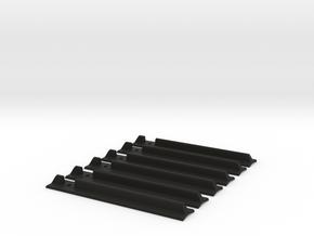 Lightsaber T-Track Grips in Black Natural Versatile Plastic